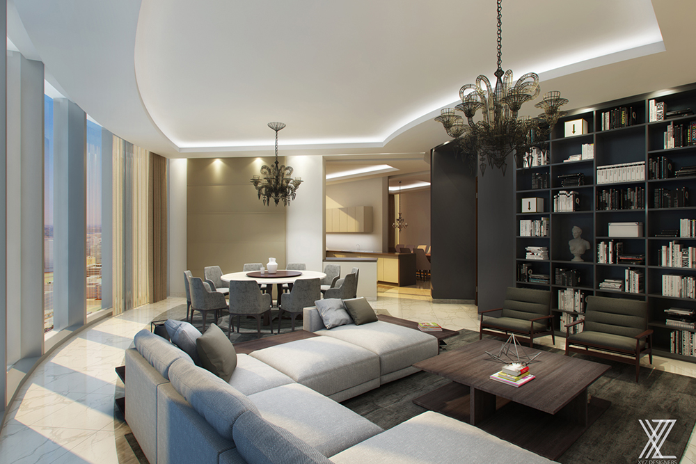 5 Bedroom Penthouse in Jeddah